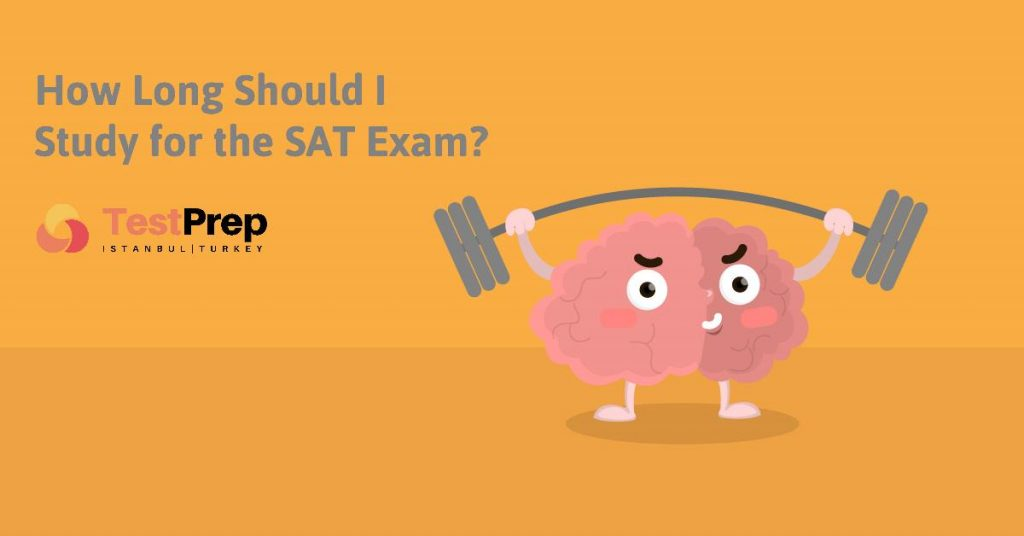 how long should you study for the sat exam